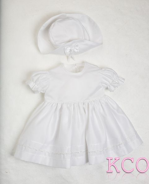 Braid Dress White~ Girls Dress